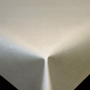 Diamond Hør-Struktur Laksefarvet Lys - ensfarvet pvc fri voksdug