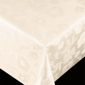 Diamond Offwhite - pvc fri voksdug med flot præget mønster