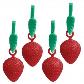 Dugvægte - Sæt med 4 stk. Jordbær