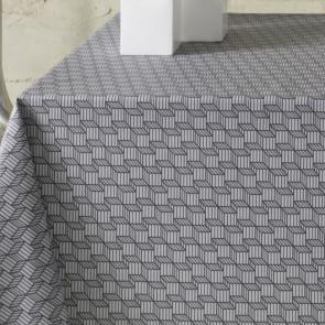 Rotkho akryldug med grafisk mønster, 140 cm bred