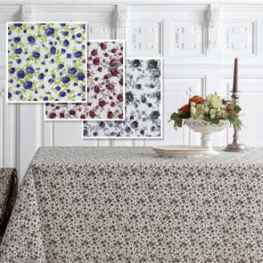 Matisse akryldug med små søde blomster, 160 cm bred