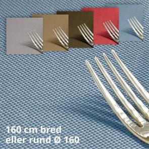 Morissot 160, ensfarvet vævet akryldug