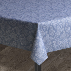 Paisley blå, Juna tekstildug i metermål