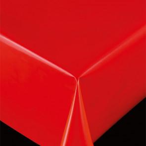 Trend Uni rød - ensfarvet pvc fri voksdug