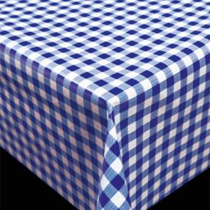 Trend Little Square Blue -  blå og hvid ternet pvc fri voksdug